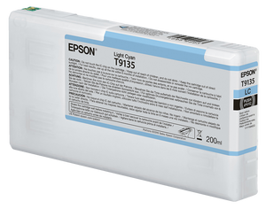 Epson UltraChrome HDX Light Cyan Ink Cartridge - 200ML