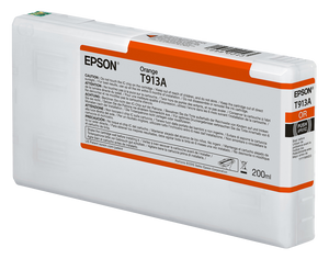Epson UltraChrome HDA Orange Ink Cartridge - 200ML - Equipment Zone Online Store