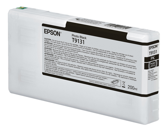 Epson UltraChrome HDX Photo Black Ink Cartridge - 200ML