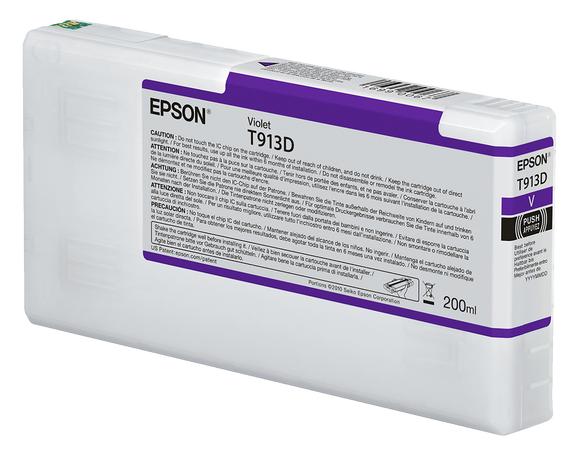 Epson UltraChrome HDX Violet Ink Cartridge - 200ML (Commercial Edition Only)