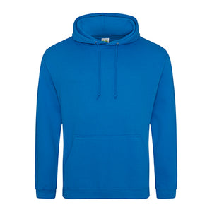 COLLEGE HOODIE - SAPPHIRE BLUE