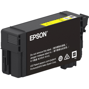 Epson T40W, 50ml Yellow Ink Cartridge, High Capacity - Equipment Zone Online Store
