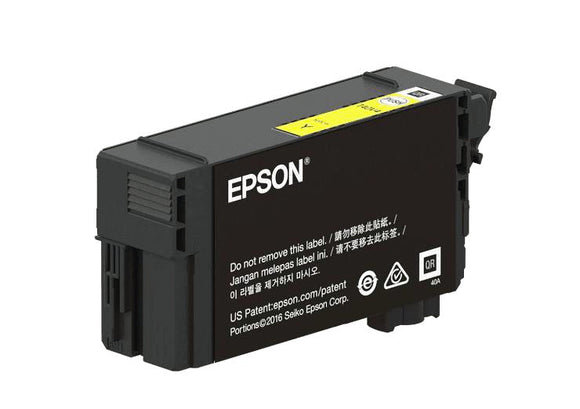 Epson T41P, 350ml Yellow Ink Cartridge, High Capacity - Equipment Zone Online Store