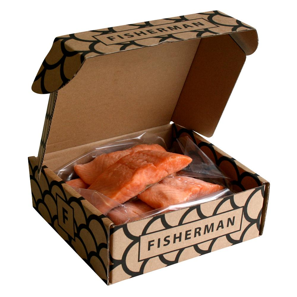 Salmon boneless with skin
