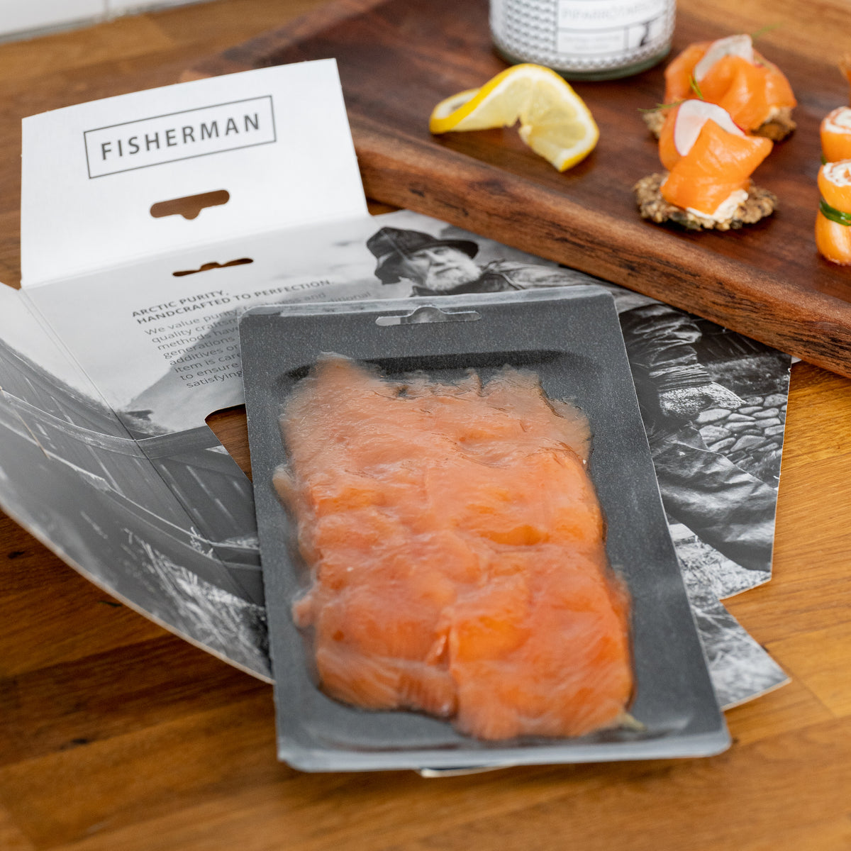 Smoked trout 100g (3,5oz) slices