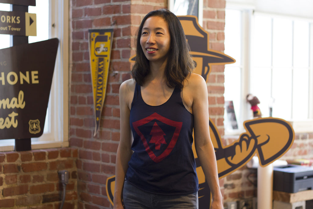 Firewatch Tank in Navy, Gold or Red