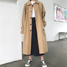 Load image into Gallery viewer, New Elegant Long Trench Coat