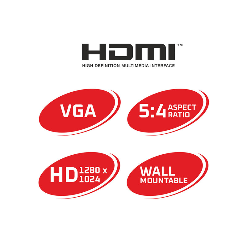 ZEB-VS17HD LED with HDMI & VGA