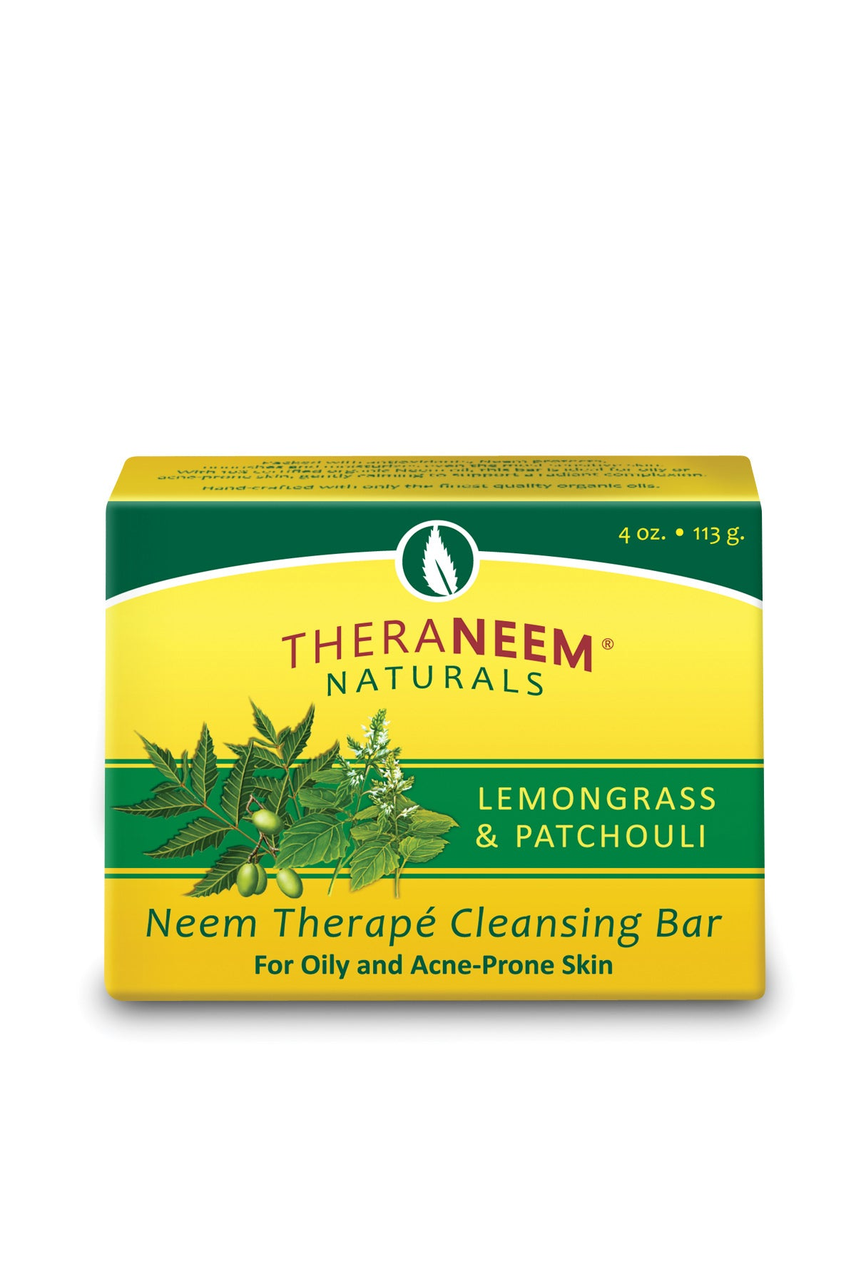 Lemongrass Patchouli & Neem Oil Cleansing Bar - Default Title