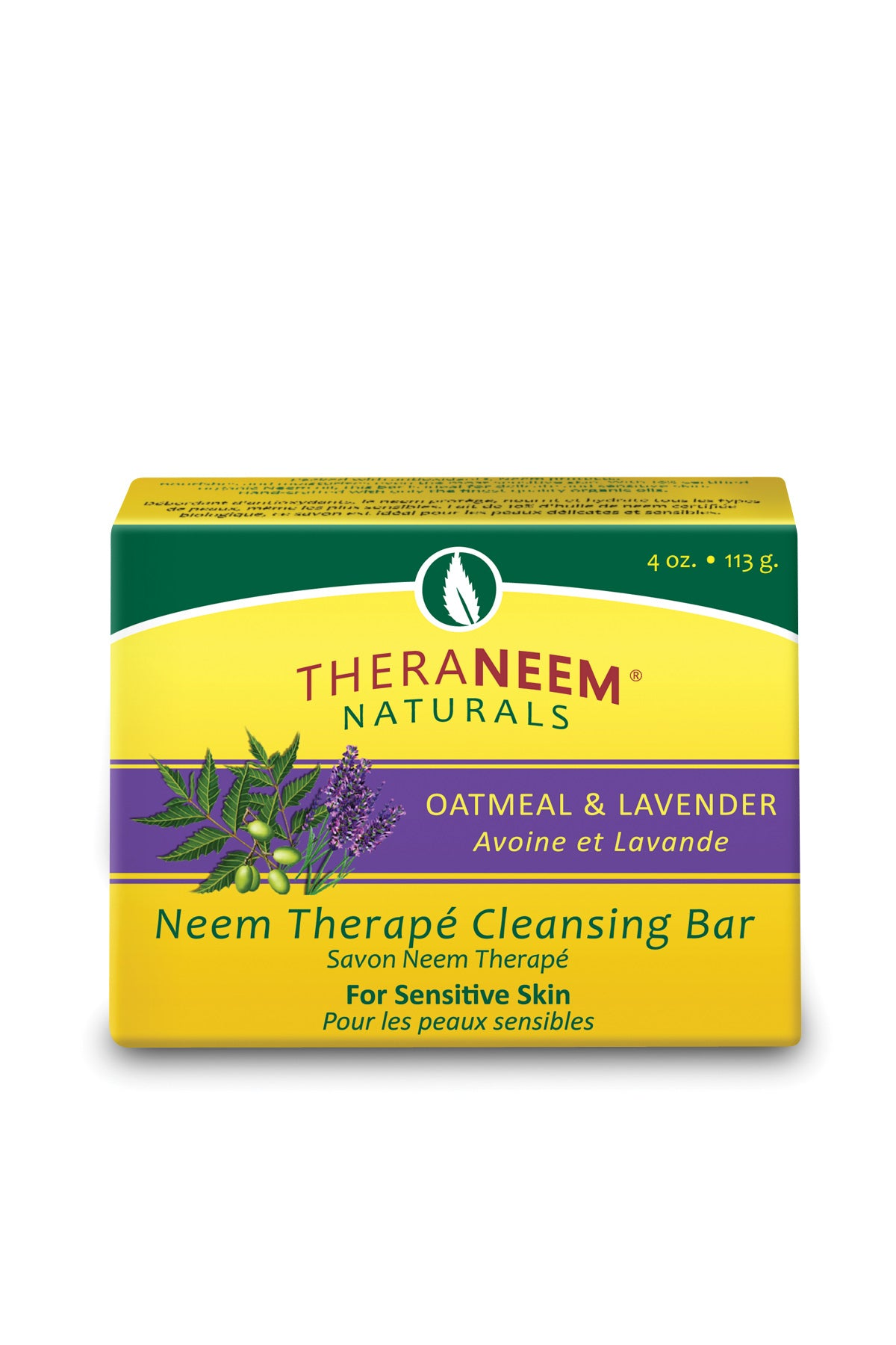 Oatmeal Lavender & Neem Oil Cleansing Bar - Default Title