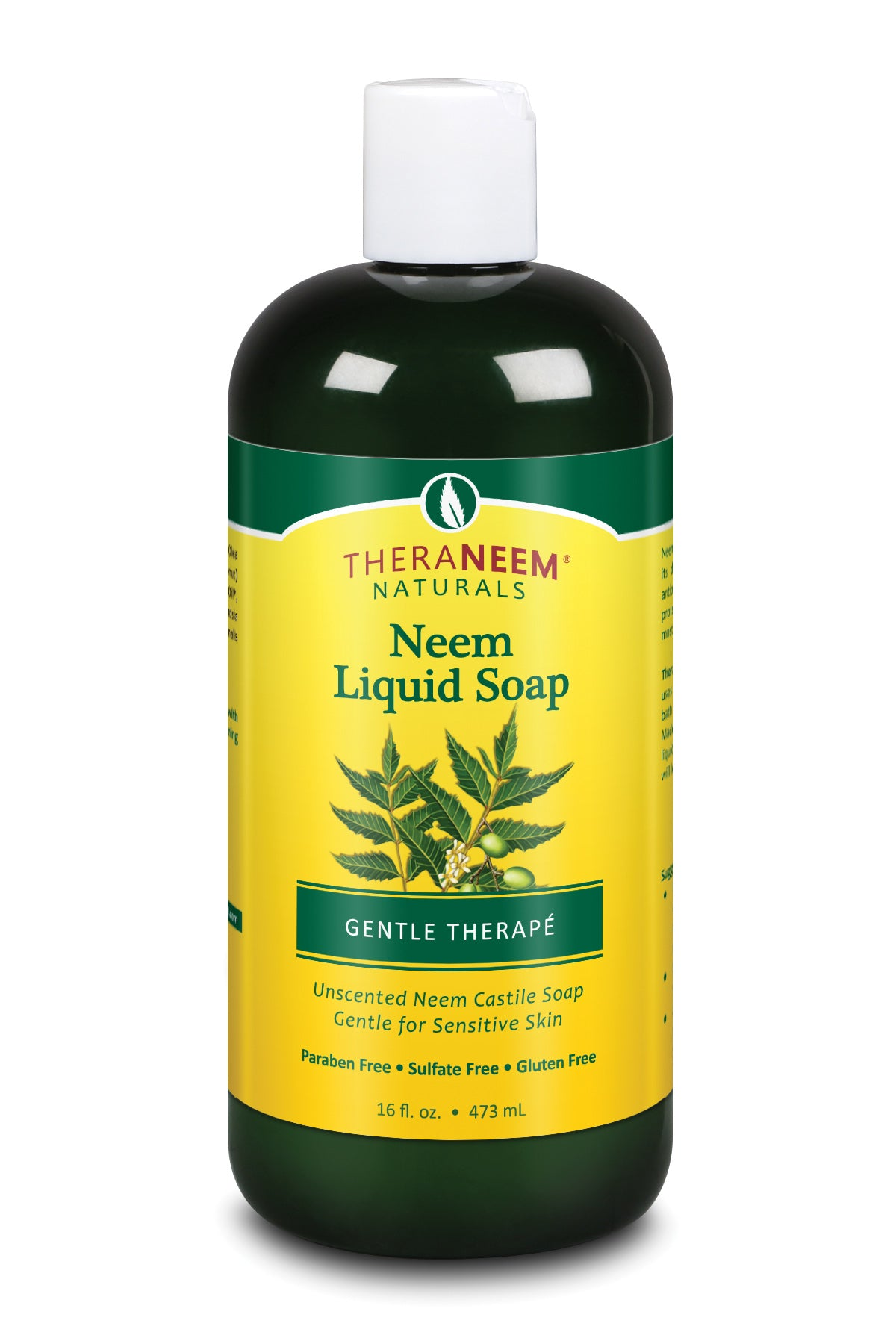 Neem Liquid Soap Gentle Therape - Default Title