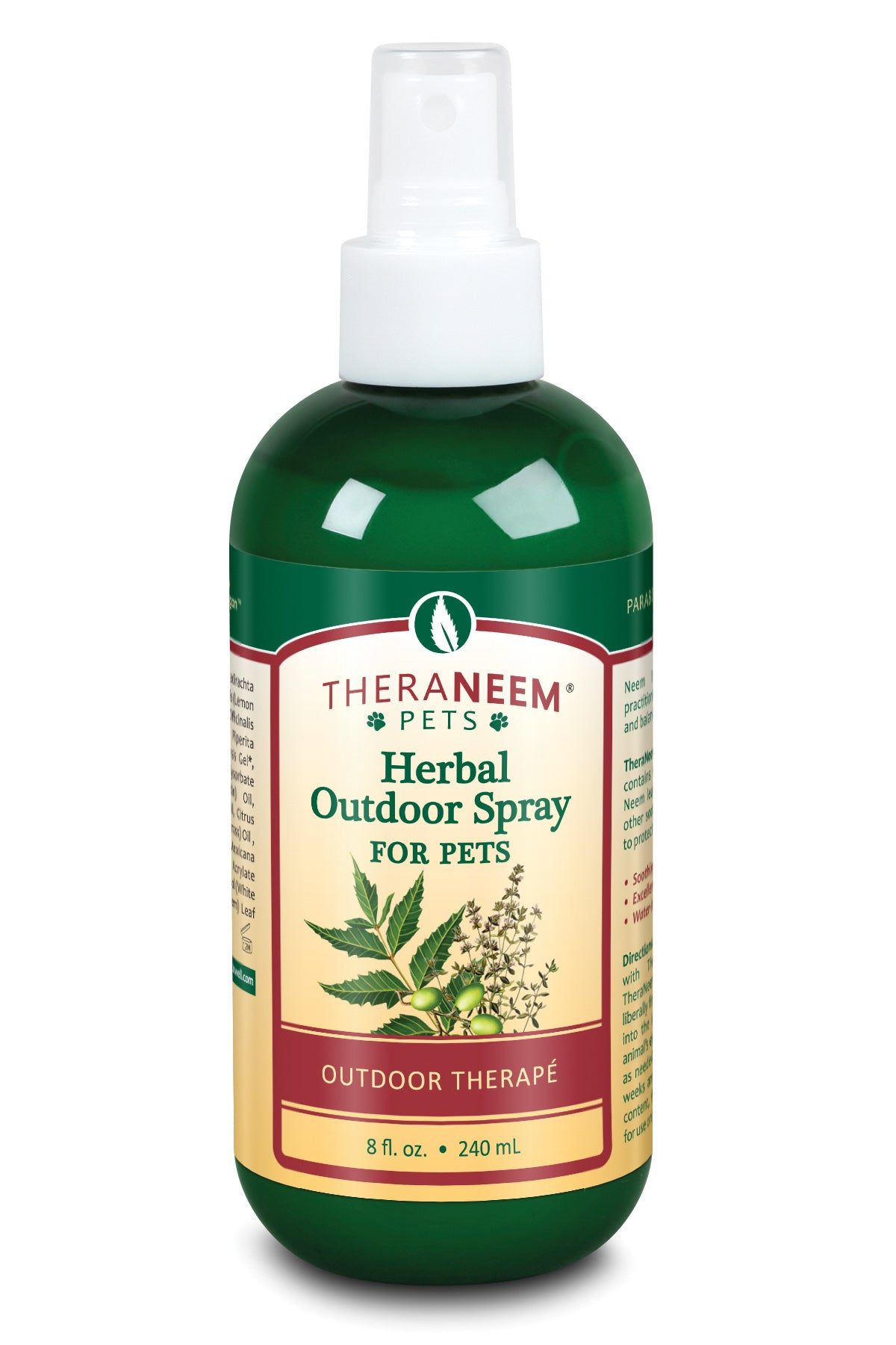 Herbal Outdoor Spray For Pets - Default Title