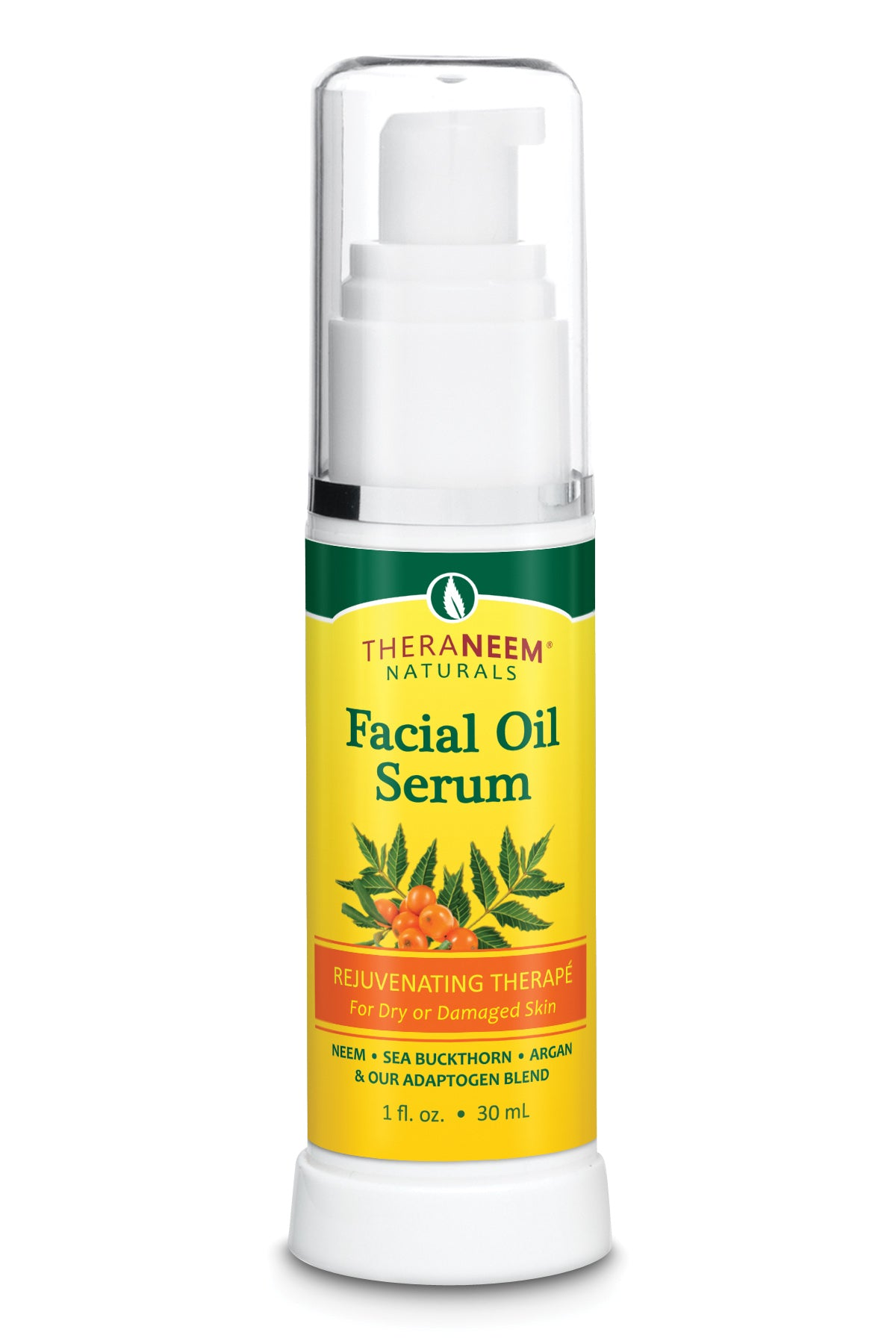 Facial Oil For Dry Or Damaged Skin - Rejuvenating Therape