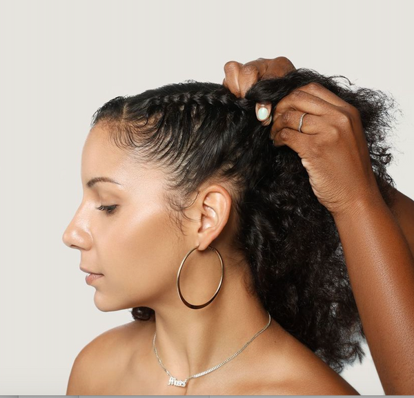 How to braid your own hair for beginners