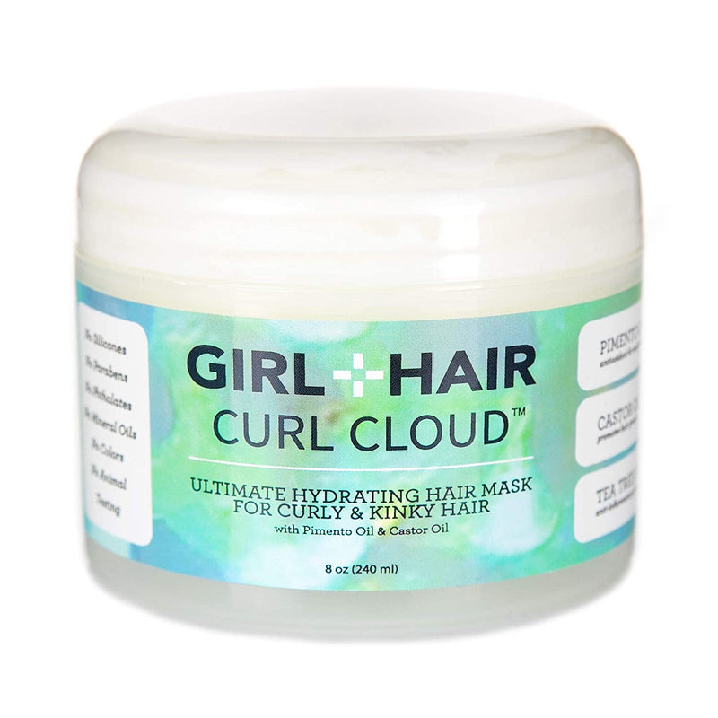 CURL CLOUD Super Hydrating Pimento and Castor Oil Hair Mask