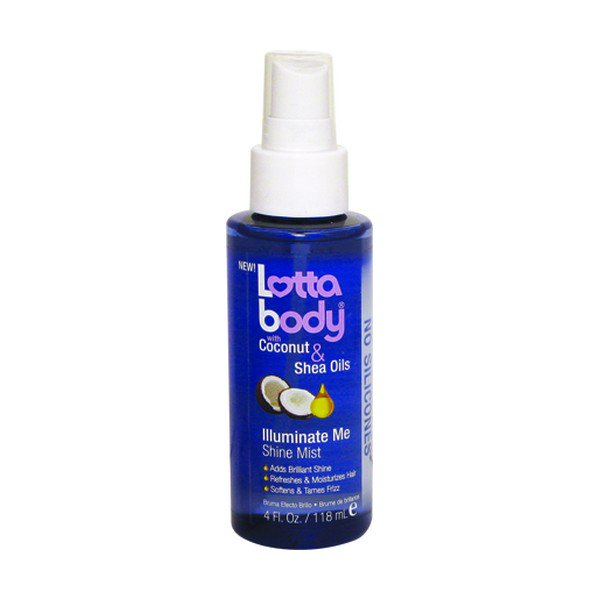 Lottabody with Coconut & Shea Oils Illuminate Me Shine Mist