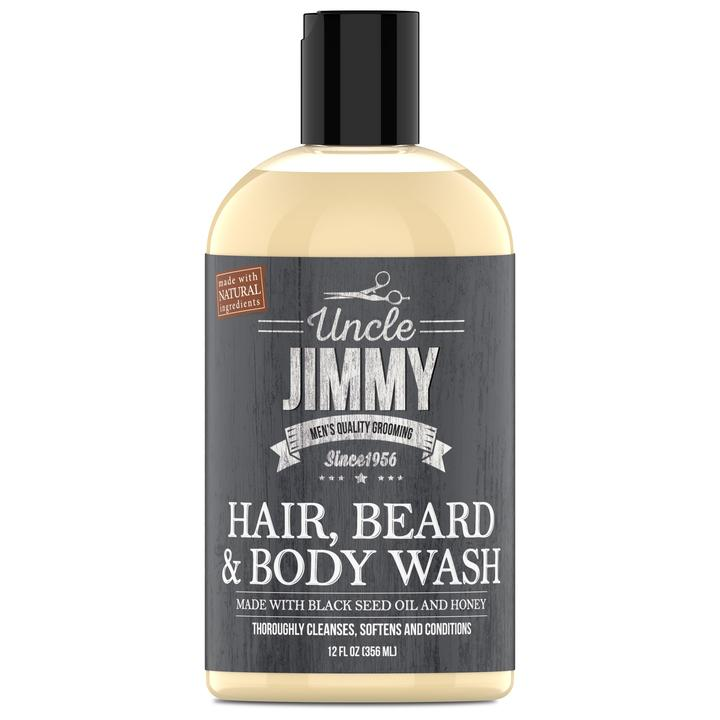 Hair, Beard, & Body Wash 12 oz