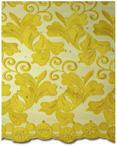 FRN002 - French Lace - Yellow