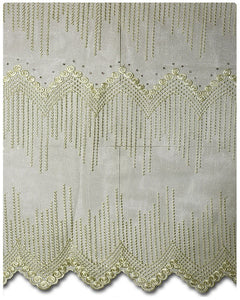 FRN023 - French Lace - Cream