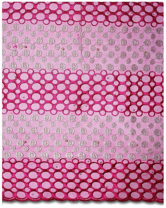 FRN024 - French Lace - Fuchsia Pink
