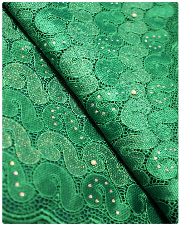 GPR001 - Guipure Lace - Green