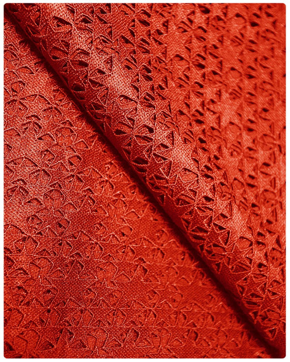 GPR006 - Guipure Lace - Red