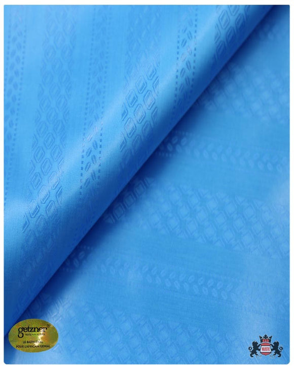 GBRC 115 Super Magnum Gold XL- Sea Blue Brocade