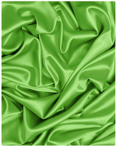STN001 - Satin - Lime Green - 2.5 Yards