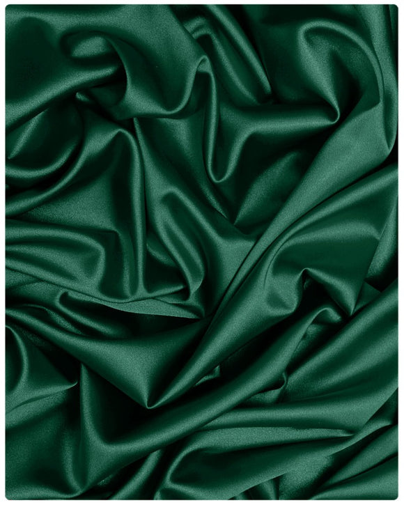 STN001 - Satin - Teal Green - 2.5 Yards