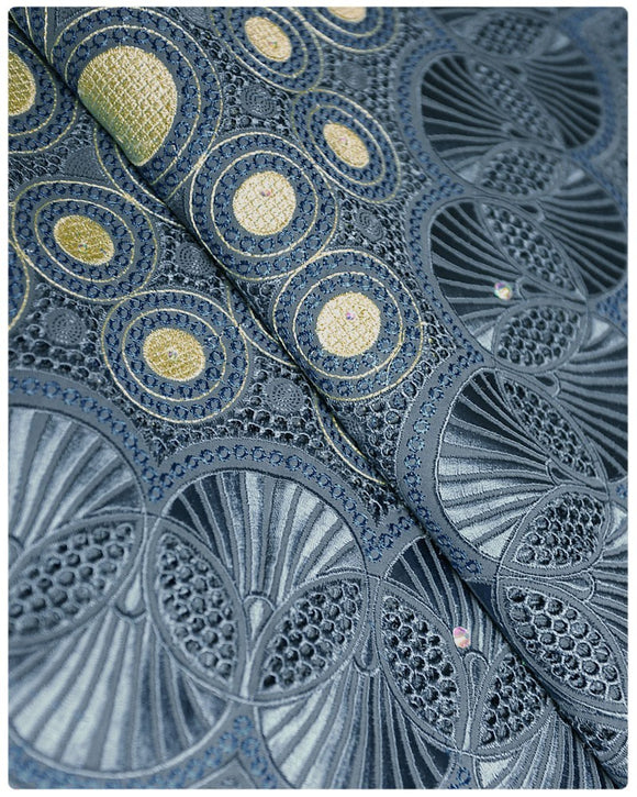 SVL057 - Swiss Voile Lace - Grey