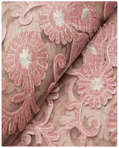 EFRN-143 EXCLUSIVE FRENCH LACE -Onion