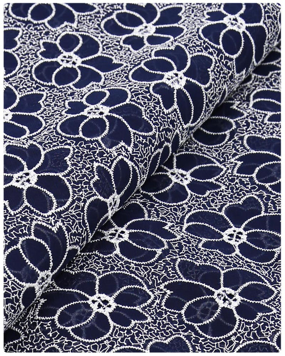 CTV-35 Cotton Voile -  Navy Blue