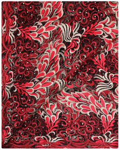 EFRN-126  Exclusive French Lace Red