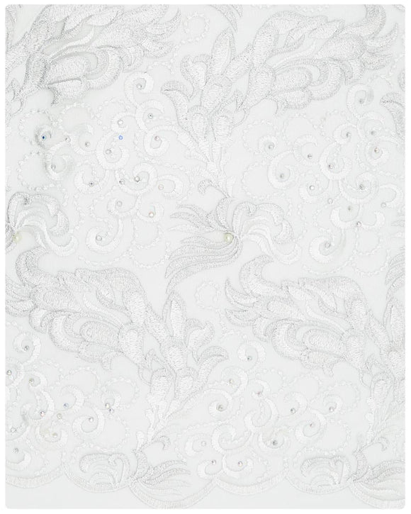 EFRN-126  Exclusive French Lace White