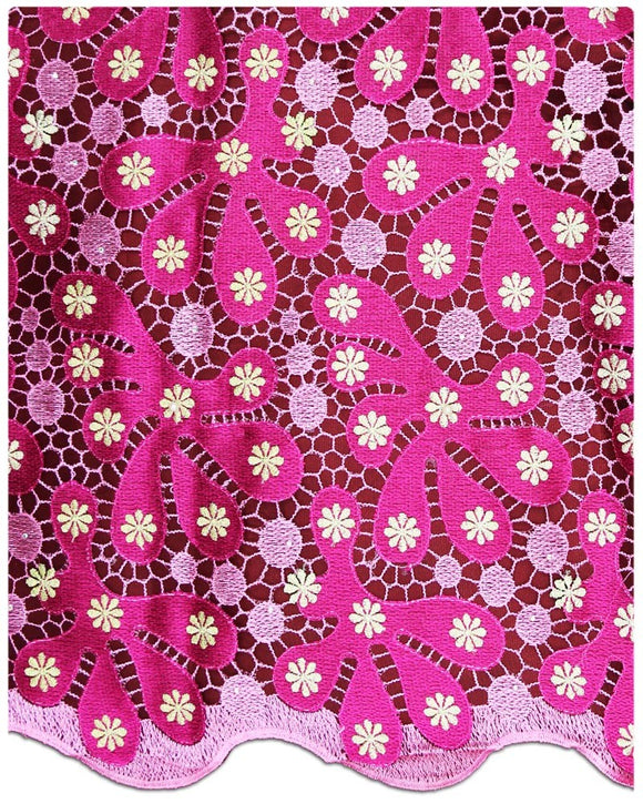 EFRN-139  Exclusive French Lace Fuchsia