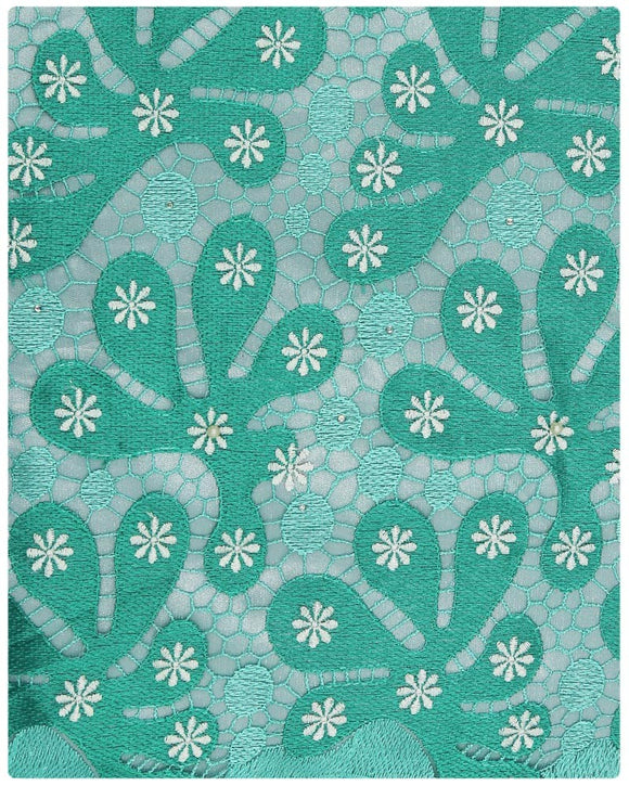EFRN-139  Exclusive French Lace Green