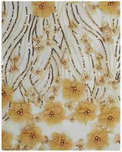EFRN-120 3D Exclusive French Lace Gold
