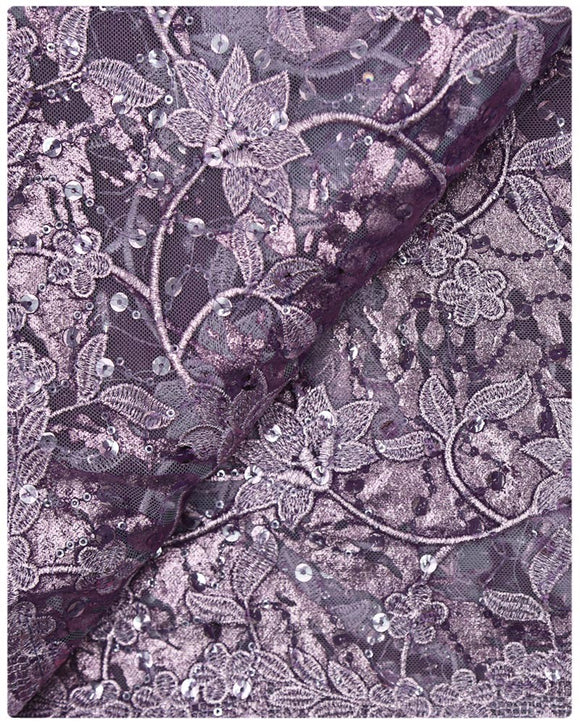 EFRN-145 EXCLUSIVE FRENCH LACE -Lavender
