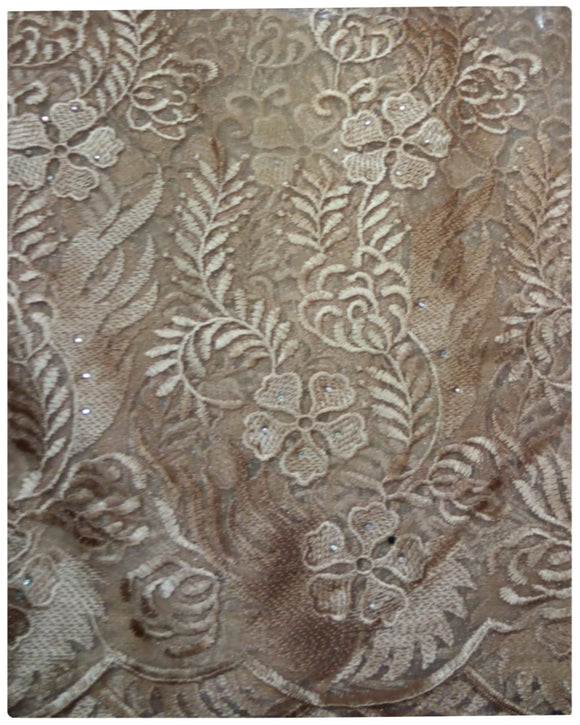 FRN333 - French Lace - Gold