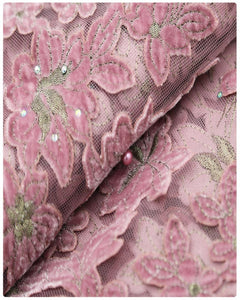 EFRN-142 EXCLUSIVE FRENCH LACE -Onion