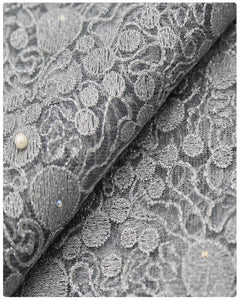 EFRN-146 EXCLUSIVE FRENCH LACE -Silver