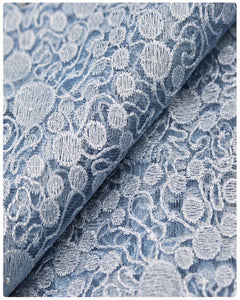 EFRN-146 EXCLUSIVE FRENCH LACE -Ice Blue