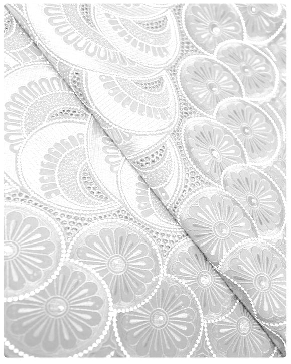 SVL026 - Swiss Voile Lace - White