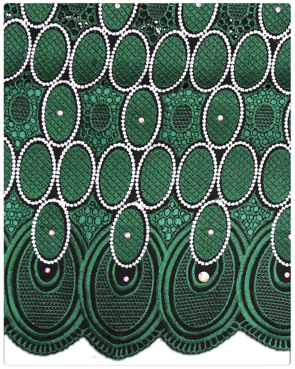 SVL062- Swiss Voile Lace - Green