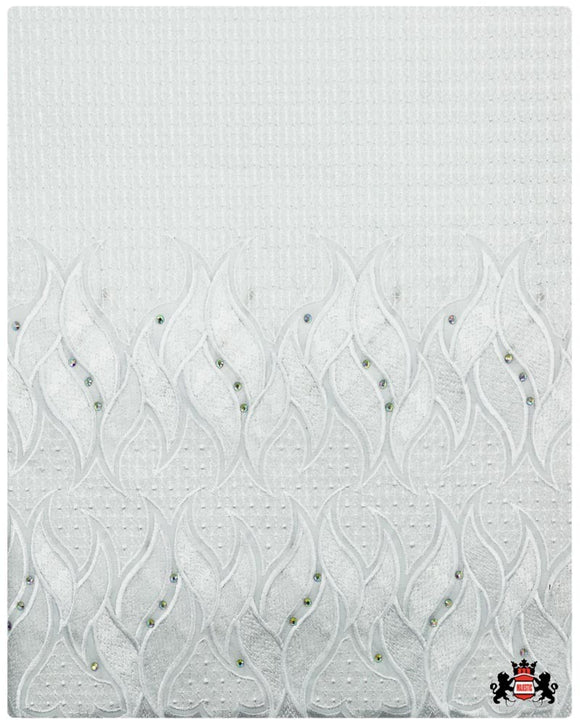 SVL082 - Swiss Voile Lace - White