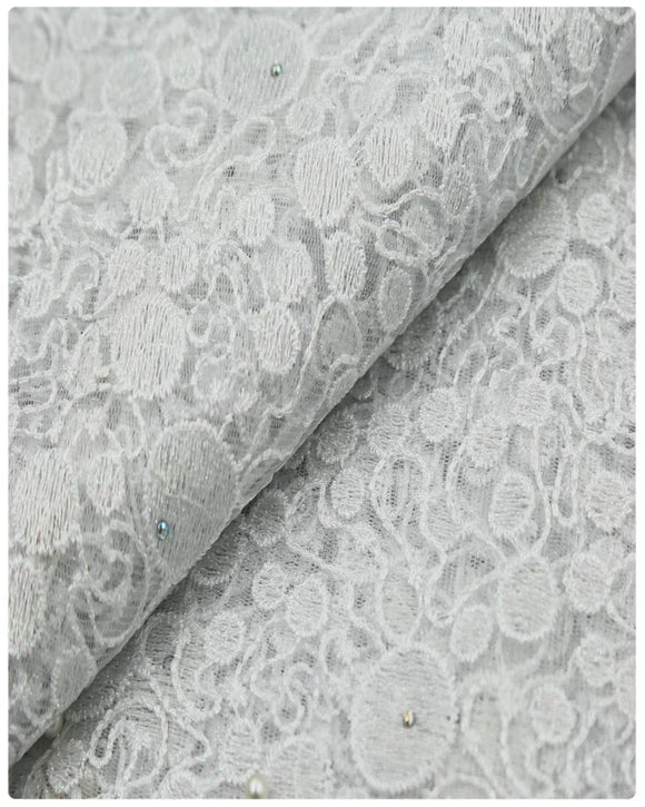 EFRN-146 EXCLUSIVE FRENCH LACE -White