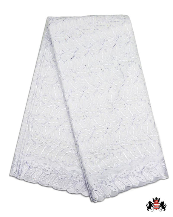 SWP13 - Swiss Polished Lace - White