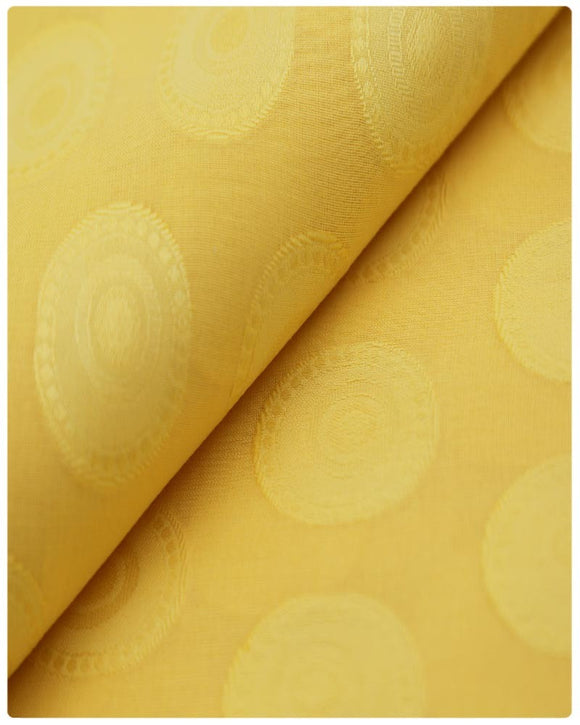 ATI024 - Atiku Lace - Mustard Yellow
