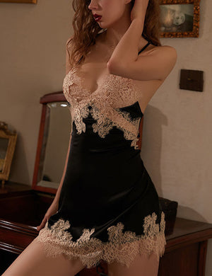 Silky Lace Nightdress