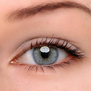 EUROPEAN AND AMERICAN BLUE GRAY  PRESCRIPTION (12 Month)   CONTACT LENSES
